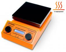 Комплект для удобной работы: магнитная мешалка с подогревом PL-HR-capacity+датчик PT1000+штатив DLAB,  рабочий объем 20 литров