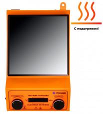 Комплект для удобной работы: магнитная мешалка с подогревом PL-HR-basic+датчик PT1000+штатив DLAB,  рабочий объем 10 литров