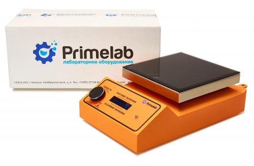 Комплект для удобной работы: магнитная мешалка без подогрева PL-R-basic+датчик PT1000+штатив DLAB, 10 литров