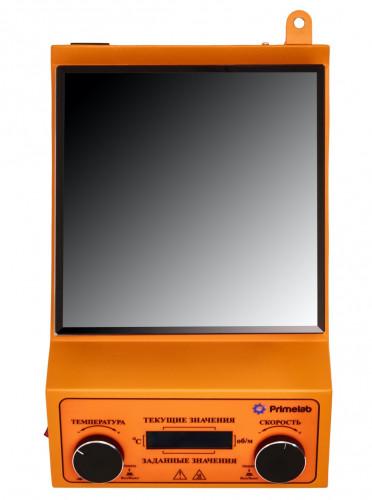 Программируемая магнитная мешалка с подогревом PL-R-steps -H,  рабочий объем 10 литров