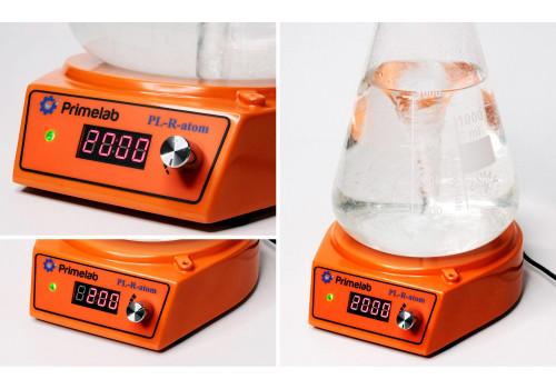 Компактная магнитная мешалка PL-R-atom, рабочий объем 2 литра.