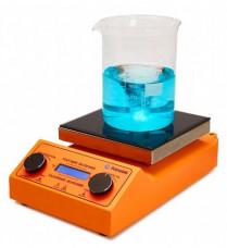 Магнитная мешалка с подогревом PL-HR-basic, рабочий объем 10 литров